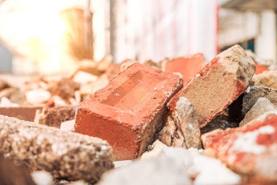 bouwafval scheiden