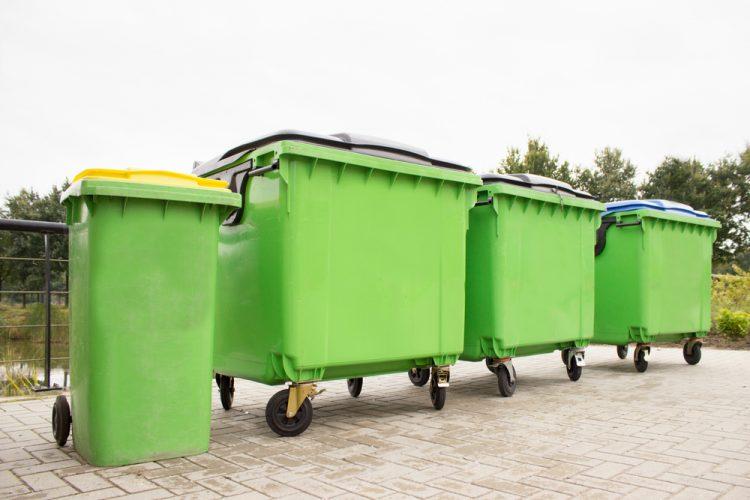 Containergrootte versus ledigingsfrequentie