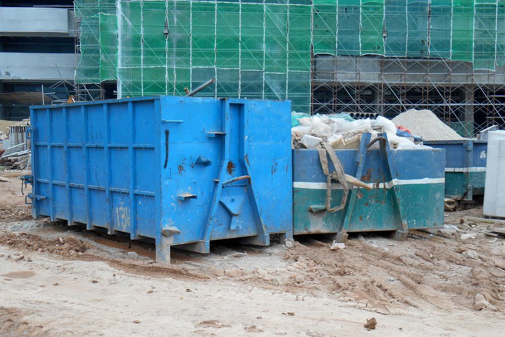 Beter een bouwcontainer huren dan naar de milieustraat.